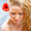 Stock Photo: Beautiful woman portrait