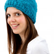 Woman with a hat — Stock Photo #7737051