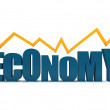 Economy going up — Foto Stock
