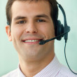 Customer support operator — Stock Photo