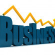 Stock Photo: Business graphic