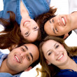 Happy friends smiling — Stock Photo #7737946