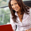 Business woman working — Stock Photo #7737999
