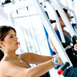 Woman at the gym — Stock Photo #7738029