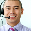 Stock Photo: Customer services man