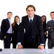 Confident business group — Foto de Stock