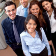 Business team smiling — Stock Photo #7738616