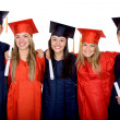 Graduation group — Stockfoto