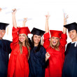 Happy graduation students — Stock Photo #7738890