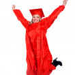 Graduation student — Stock Photo