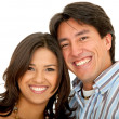 Beautiful couple portrait — Stock Photo #7739150