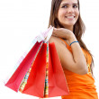 Girl with shopping bags — Stock Photo #7739203