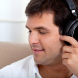 Man with headphones — Stock Photo #7739221