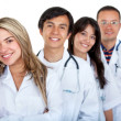 Young group of doctors — Stock Photo
