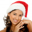 Woman santa — Stock Photo #7739300