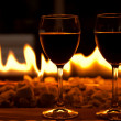 Wine glasses — Stockfoto