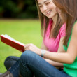 Girls studying — Stockfoto #7739551