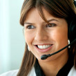 Customer support operator — Stock Photo #7739599