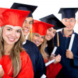 Graduation group — Foto de Stock