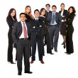 Group of business — Stock Photo #7739813