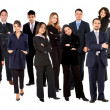 Group of business — Stock Photo #7739817