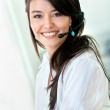 Customer support operator - Stock Photo