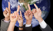 Global participation — Stock Photo