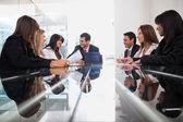 бизнес на встрече — Стоковое фото
