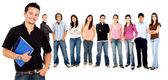 Gruppo di studenti — Foto Stock
