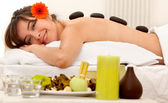 Woman at a Spa — Stock Photo