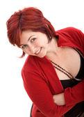 Smiley woman portrait — Stock Photo