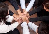 Trabalho de equipe de negócios — Foto Stock