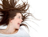Crazy woman — Stock Photo