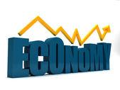 экономика идет вверх — Стоковое фото