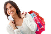 Woman shopping — Photo