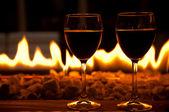 Wine glasses — Stock Photo
