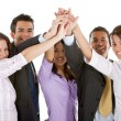 Business high-five — Stock Photo #7740074