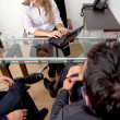 Stockfoto: In business meeting