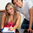 Royalty-Free Stock Photo: Happy students