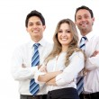 Confident young executives - Stock Photo