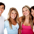 Happy group of friends — Stock Photo #7740286
