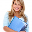Beautiful female student — Stock Photo #7740299