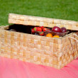 Picnic fruits — Stock Photo