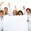 Stock Photo: Group doctors