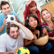 Stock Photo: Watching soccer