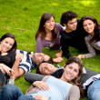 Friends outdoors — Stock Photo #7740542