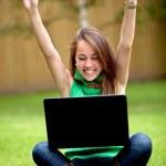 Online success — Stock Photo