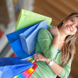 Woman with bags — Stock Photo #7740623