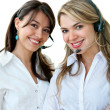 Customer support operators - Stock Photo