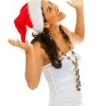 Santa woman — Stock Photo #7740747